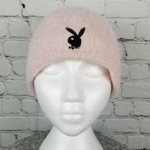 PLAYBOY | angora wool blend beanie toque hat